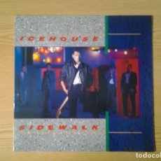 Discos de vinilo: ICEHOUSE -SIDEWALK- LP CHRYSALIS 1984 ED. INGLESA 206 334 MUY BUENAS CONDICIONES.. Lote 269637278