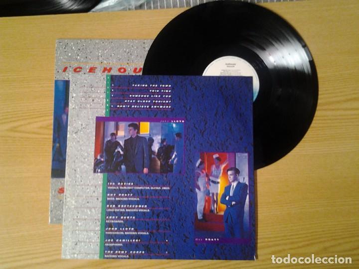 Discos de vinilo: ICEHOUSE -SIDEWALK- LP CHRYSALIS 1984 ED. INGLESA 206 334 MUY BUENAS CONDICIONES. - Foto 2 - 269637278