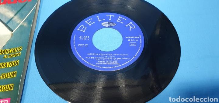 Discos de vinilo: LOTE DE 2 VINILOS DE HENRI SALVADOR - ZORRO EST ARRIVÉ / EL MARCIANO 1964 - Foto 9 - 269638173