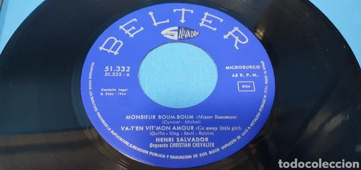 Discos de vinilo: LOTE DE 2 VINILOS DE HENRI SALVADOR - ZORRO EST ARRIVÉ / EL MARCIANO 1964 - Foto 10 - 269638173