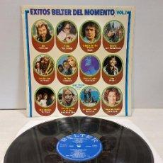 Discos de vinilo: ÉXITOS BELTER DEL MOMENTO. VOL. 1 / LP - BELTER-1975 / MBC. ***/***. Lote 269641868