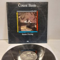 Discos de vinilo: COUNT BASIE AND HIS ORCHESTRA / BASIE'S TIMING / LP - MPS-1988 / MBC. ***/***. Lote 269642808