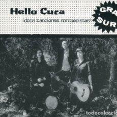 Discos de vinilo: LP HELLO CUCA GRAN SUR VINILO LIDIA DAMUNT. Lote 269643263