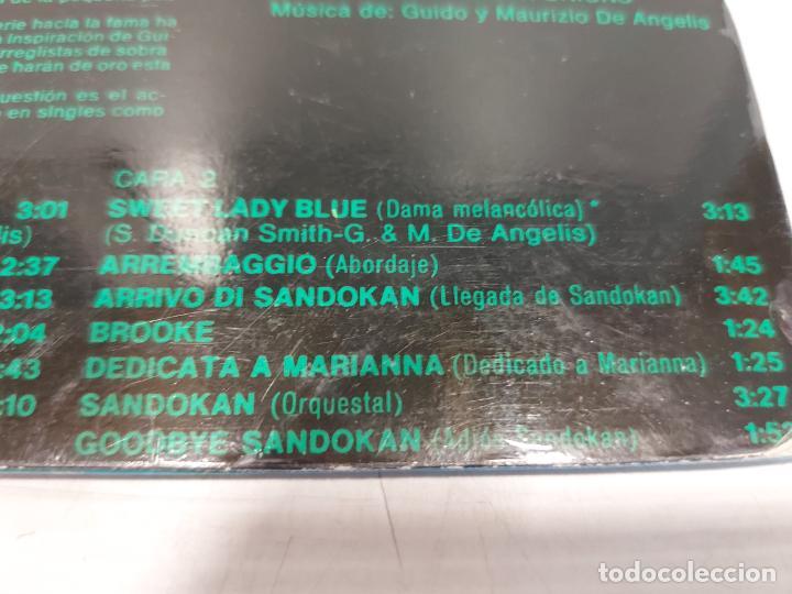 Discos de vinilo: B.S.O. / SANDOKAN / GUIDO Y MAURIZIO DE ANGELIS / LP - RCA-VICTOR-1976 / MBC. ***/*** - Foto 4 - 269643268