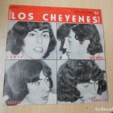 Dischi in vinile: CHEYENES, LOS, EP, CONOCES EL FINAL + 3, AÑO 1965. Lote 269644893