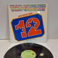 Discos de vinilo: LOS DOCE MAS. VOL. 4 / DIVERSOS ARTISTAS / LP - MOVIE PLAY-1974 / MBC. ***/***. Lote 269645253