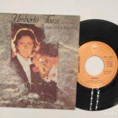 """Discos de vinilo: VINILO DE 7 PULGADAS DE UMBERO TOZZI QUE CONTIENE """"GLORIA"""" Y """"MAMA MAREMMA"""". DISCOGRÁFICA: EPIC.. Lote 269647443"""