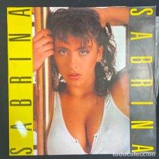 Discos de vinilo: SABRINA-DISCO-VINILO-LP-INDALO MUSIC-INDLP-01-1987. Lote 269649033