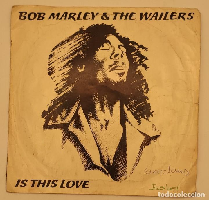 """Discos de vinilo: Vinilos de 7 pulgadas de Bob Marley que contienen """" improvisando"""", """"punky reggae party""""... - Foto 6 - 269649083"""
