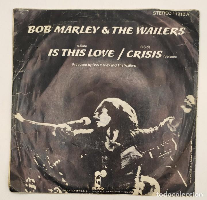 """Discos de vinilo: Vinilos de 7 pulgadas de Bob Marley que contienen """" improvisando"""", """"punky reggae party""""... - Foto 7 - 269649083"""