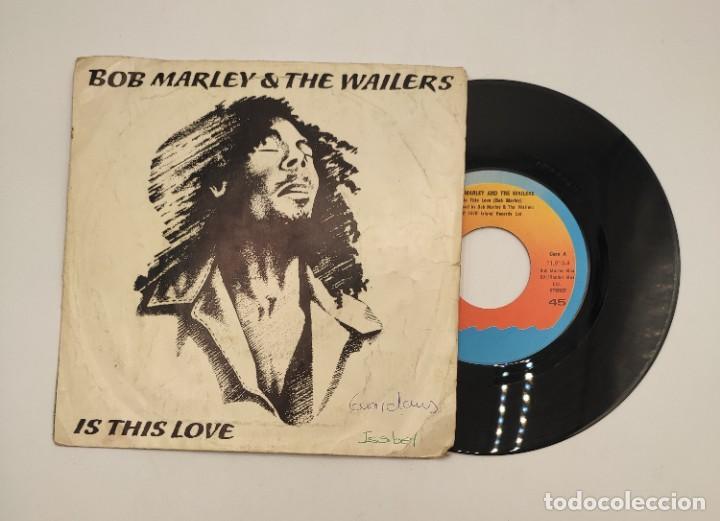 """Discos de vinilo: Vinilos de 7 pulgadas de Bob Marley que contienen """" improvisando"""", """"punky reggae party""""... - Foto 8 - 269649083"""