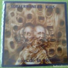 """Discos de vinilo: SUBTERRANEAN KIDS. """"LOS OJOS DE LA VÍCTIMA"""". PATIZAMBO 1986. NUEVO. Lote 269653248"""