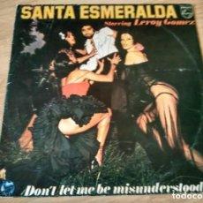 Discos de vinilo: SANTA ESMERALDA/ LEROY GOMEZ - DON'T LET ME BE MISUNDERSTOOD. Lote 269686193