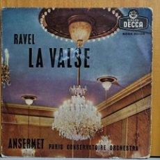 Discos de vinilo: ERNEST ANSERMET L'ORCHESTRE DE LA SUISSE ROMANDE. /LA VALSE (RAVEL). Lote 269687513