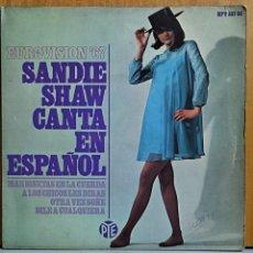Discos de vinilo: SANDIE SHAW - MARIONETAS EN LA CUERDA + 3 - EP EUROVISION 1967. Lote 269697898