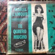Discos de vinilo: RONNEX. MARIA L'AMOUR. DANY…. Lote 269703348