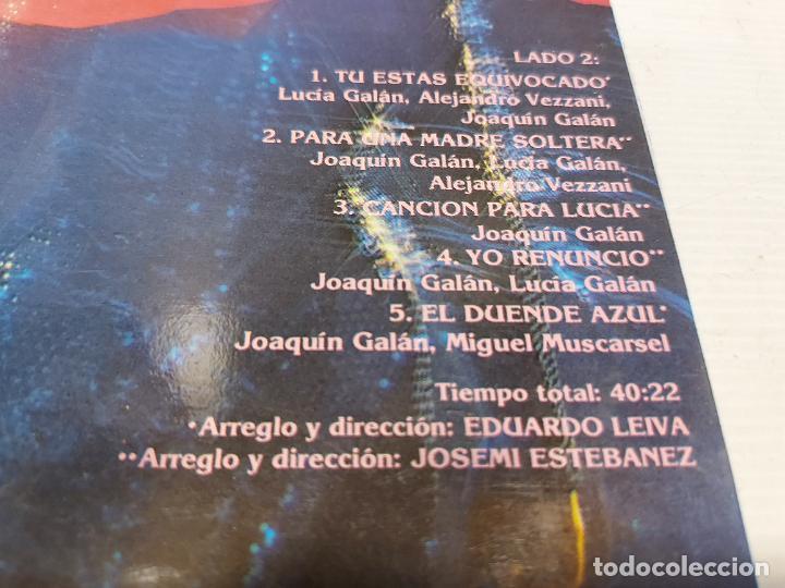 Discos de vinilo: PIMPINELA / EL DUENDE AZUL / LP - EPIC-1988 / MBC. ***/*** - Foto 4 - 269707928