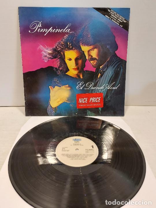 PIMPINELA / EL DUENDE AZUL / LP - EPIC-1988 / MBC. ***/*** (Música - Discos - LP Vinilo - Grupos y Solistas de latinoamérica)