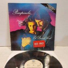 Discos de vinilo: PIMPINELA / EL DUENDE AZUL / LP - EPIC-1988 / MBC. ***/***. Lote 269707928