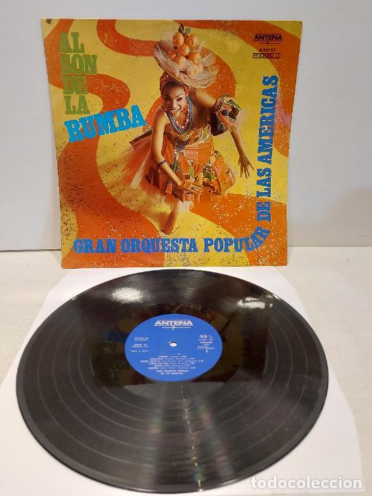 GRAN ORQUESTA POPULAR DE LAS AMÉRICAS / AL SON DE LA RUMBA / LP-ANTENA-1968 / MBC. ***/*** (Música - Discos - LP Vinilo - Orquestas)