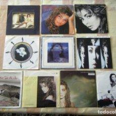 Discos de vinilo: LOTE 10 VINILOS SINGLES DE SANDRA. Lote 269711598