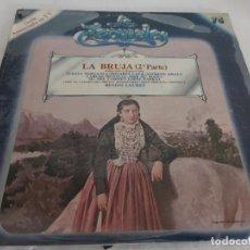 Discos de vinilo: LA BRUJA (2ª PARTE) / SERIE LA ZARZUELA / 75 / VINILO PRECINTADO. ***** / CON FASCÍCULO.. Lote 269713468