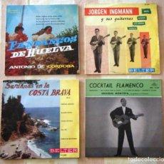 Discos de vinilo: LOTE 4 SINGLES MÚSICA FOLKLÓRICA. Lote 269715258