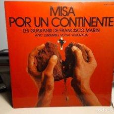 Discos de vinilo: LP GRUPO LOCAL ALBORADA : MISA PARA UN CONTINENTE. Lote 269719548