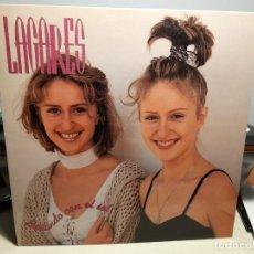 Discos de vinilo: LP LAGARES : BAILANDO CON EL SOL ( PRODUCIDO POR SANTI ARISA Y AULA DE JAZZ BARCELONA). Lote 269720483