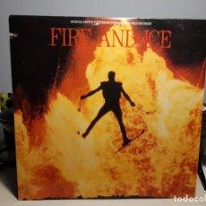 Discos de vinilo: LP BANDA SONORA FIRE AND ICE (TEMAS DE GARY WRIGHT Y PANARAMA ). Lote 269721123
