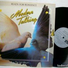Discos de vinilo: MODERN TALKING READY FOR ROMANCE THE 3RD ALBUM LP. Lote 269725643
