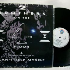 """Discos de vinilo: 2 BROTHERS IN THE 4TH FLOOR CAN'T HELP MYSELF 12"""". Lote 269725858"""