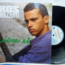Discos de vinilo: EROS RAMAZZOTTI MUSICA ES VINYL LP. Lote 269733743