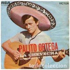 Discos de vinilo: PALITO ORTEGA– LA CHEVECHA / SOY AMIGO DE LAS FLORES - SINGLE 1969. Lote 269736743