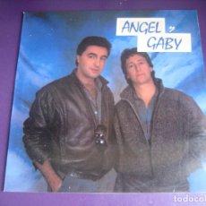 Discos de vinilo: ANGEL Y GABI - MAXI SINGLE ACUARIO 1985 - TECNO POP 80'S - SIN ESTRENAR. Lote 269739123