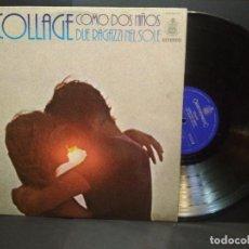Discos de vinilo: COLLAGE- LP COMO DOS NIÑOS ( DUE RAGAZZI NEL SOLE ) ..HISPAVOX ,SPA1977 PEPETO. Lote 269742988