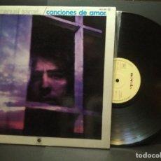 Discos de vinilo: JOAN MANUEL SERRAT (LP) CANCIONES DE AMOR AÑO 1976 – PORTADA ABIERTA PEPETO. Lote 269743288