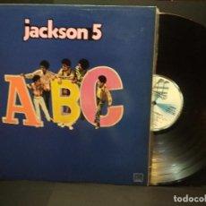 Discos de vinilo: JACKSON 5 ABC LP MOTOWN SNL1 60102 1984 SPAIN PEPETO. Lote 269750683