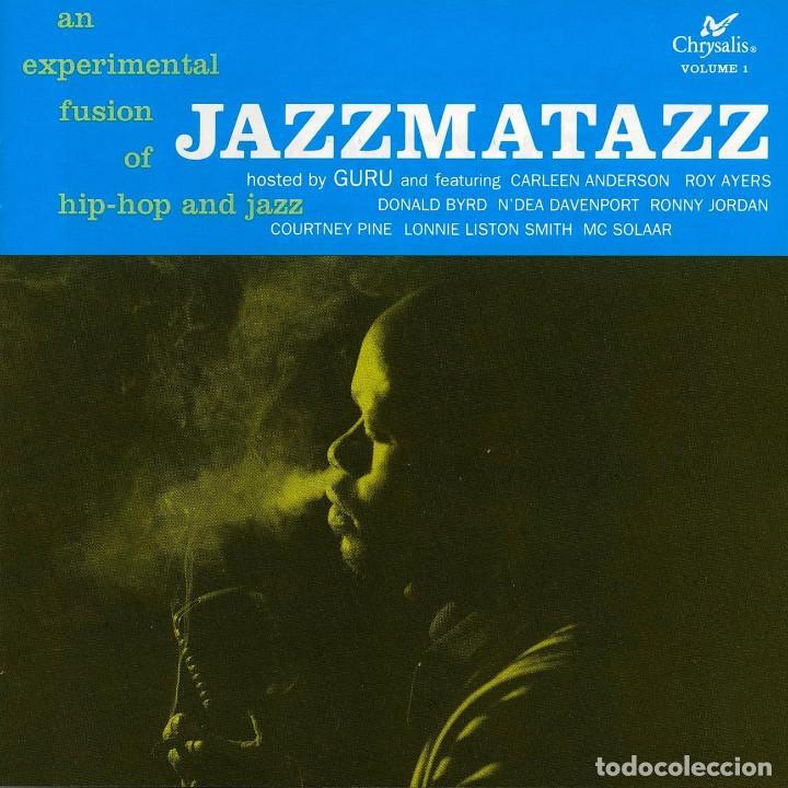 LP GURU - JAZZMATAZZ VOLUME: 1 - CHRYSALIS 3 21998 1 - REEDICIÓN - NUEVO !!!* (Música - Discos - LP Vinilo - Rap / Hip Hop)