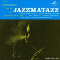 Discos de vinilo: LP GURU - JAZZMATAZZ VOLUME: 1 - CHRYSALIS 3 21998 1 - REEDICIÓN - NUEVO !!!*. Lote 269750923