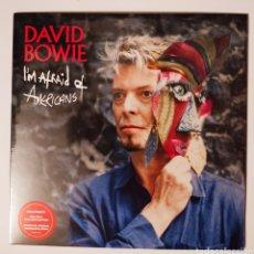 """Discos de vinilo: DAVID BOWIE - I'M AFRAID OF AMERICANS SINGLE 7"""" EDICIÓN LIMITADA VINILO ROJO PRECINTADO. Lote 269751798"""