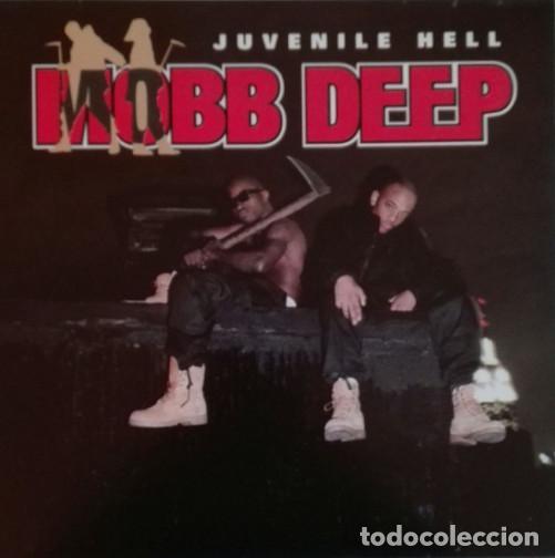 LP MOBB DEEP - JUVENILE HELL - 4TH & BROADWAY 162-444 053-1 - REEDICION - NUEVO !!!!* (Música - Discos - LP Vinilo - Rap / Hip Hop)