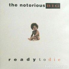 Discos de vinilo: LP THE NOTORIOUS B.I.G. - READY TO DIE - BAD BOY ENTERTAINMENT 78612-73000-1 - REEDICION - NUEVO !!*. Lote 269760543