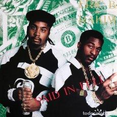 Discos de vinilo: LP ERIC B. & RAKIM - PAID IN FULL - 4TH & BROADWAY BWAY 4005 - REEDICIÓN - NUEVO !!!*. Lote 269760593