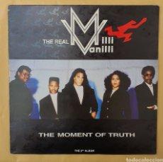 Discos de vinilo: LP MILLI MANILLI - THE MONKEY OF TRUTH/ESPAÑA/1990. Lote 269766173