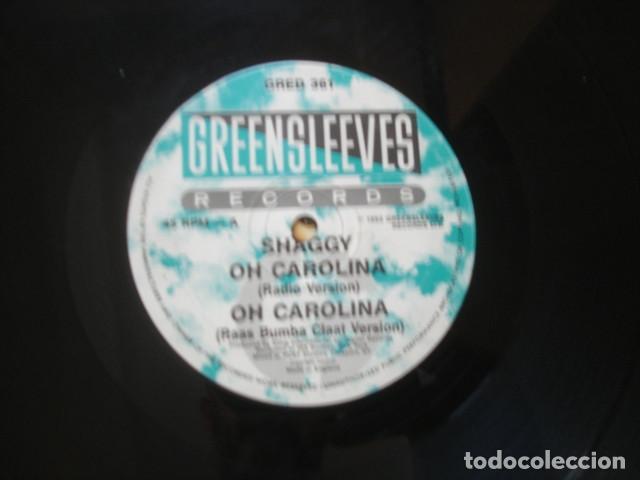 SHAGGY / RAYVON OH CAROLINA / RIVERS OF BABYLON (Música - Discos de Vinilo - Maxi Singles - Reggae - Ska)