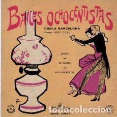 Discos de vinilo: COBLA BARCELONA - BAILES OCHOCENTISTAS - EP ALHAMBRA ( ÁNIMO . EL CALIFA. LOS ORIENTALES.). Lote 269797503