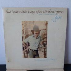 Discos de vinilo: PAUL SIMON. TODAVIA LOCO DESPUES DE TANTOS AÑOS. CBS. S 69159. 1975. ESP.. Lote 269806628