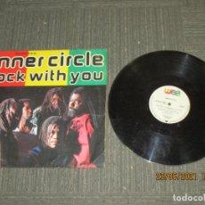Discos de vinilo: INNER CIRCLE - ROCK WITH YOU - MAXI - EUROPA - METRONOME - LV -. Lote 269810618