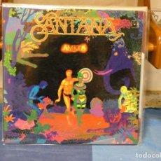 Discos de vinilo: LP SANTANA AMIGOS GATEFOLD BUEN ESTADO DE DISCO 47 , MUY BONITO. Lote 269821848